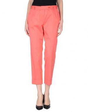 Повседневные брюки EMISPHERE. Цвет: коралловый