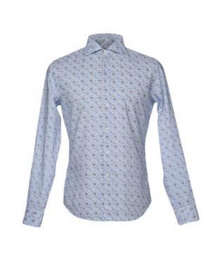 Pубашка WEST COAST. Цвет: небесно-голубой