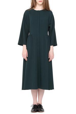 Платье Cyrille Gassiline. Цвет: бутылочный