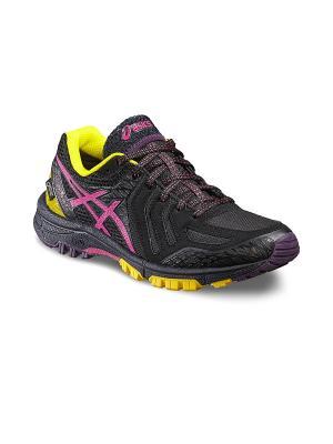 Спортивная обувь GEL-FujiAttack 5 G-TX ASICS. Цвет: черный, желтый, фиолетовый
