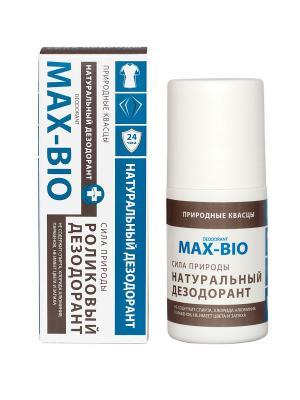 Дезодорант MAX-BIO кристалл Сила природы. Цвет: голубой