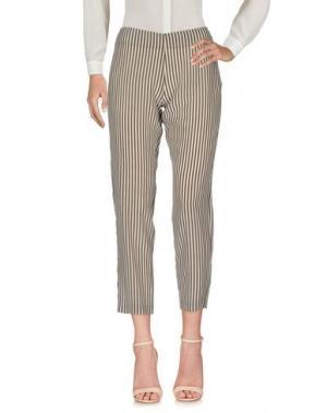 Повседневные брюки IVORIES. Цвет: зеленый-милитари