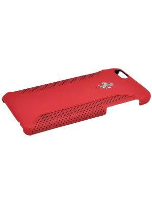 Чехол Ferrari для iPhone 6/6S F12 Hard Red. Цвет: красный