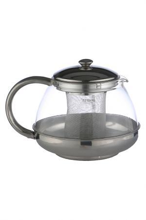 Чайник заварочный 1 л Bekker. Цвет: серебро