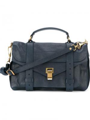 Средняя сумка-сэтчел Pashli Proenza Schouler. Цвет: синий