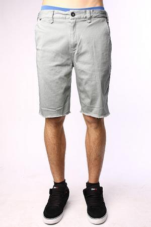 Джинсовые мужские шорты  Jt Sig Chino Short Slate Grey Fallen. Цвет: серый