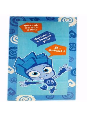 Махровые полотенца  Фиксики Нолик 1079 01 голуб. Цвет: голубой