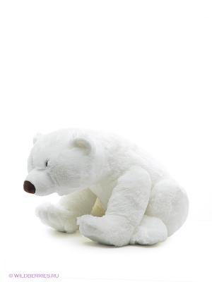Белый мишка Умка Gulliver. Цвет: белый