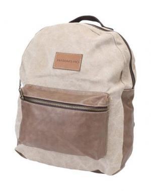 Рюкзаки и сумки на пояс HAMAKI-HO. Цвет: бежевый