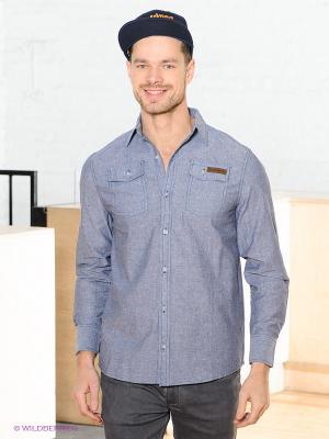 Рубашка HYDROPONIC. Цвет: серо-голубой
