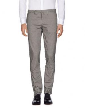 Повседневные брюки INDIVIDUAL. Цвет: серый
