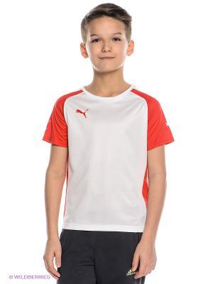 Mens Speed Jersey Puma. Цвет: красный, белый