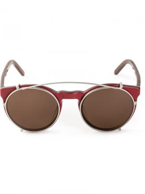 Солнцезащитные очки  Artist Selima Optique. Цвет: красный