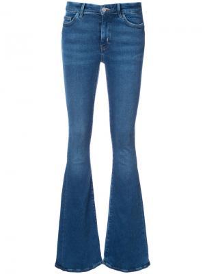 Расклешенные джинсы Mih Jeans. Цвет: none