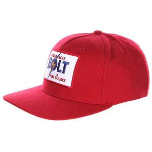 Бейсболка  Classic Cap Chili Pepper Lightning Bolt. Цвет: бордовый