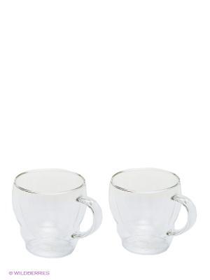Кружка THERMOS в наборе 2шт. Double glass Cups, 0.3L. Цвет: прозрачный