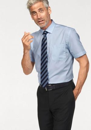 Рубашка с коротким рукавом Otto. Цвет: синий