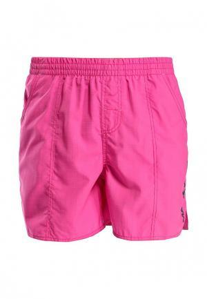 Шорты для плавания MadWave. Цвет: розовый