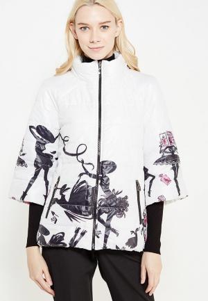 Куртка утепленная SK House. Цвет: белый
