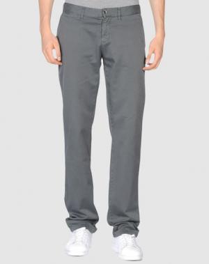 Повседневные брюки SEVEN7. Цвет: свинцово-серый