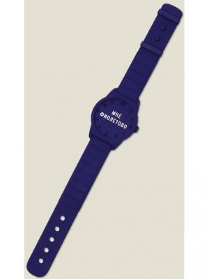 Часы Мне фиолетово Бюро находок. Цвет: темно-фиолетовый