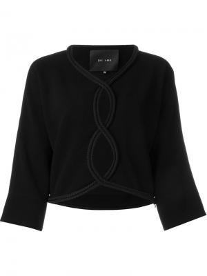 Блузка с вырезами Jay Ahr. Цвет: чёрный