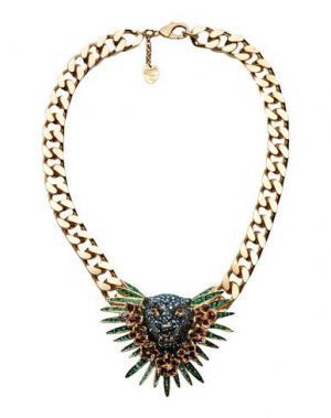Ожерелье SCHIELD. Цвет: золотистый