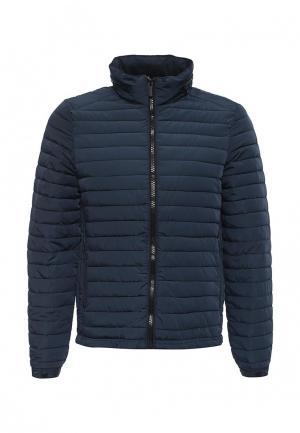 Куртка утепленная Best Mountain. Цвет: синий