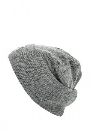 Шапка Tom Tailor Denim. Цвет: серый