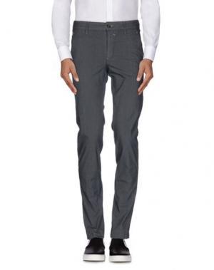 Повседневные брюки HEAVEN TWO. Цвет: свинцово-серый