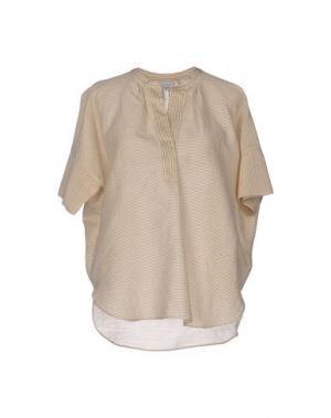 Блузка CALIBAN. Цвет: песочный