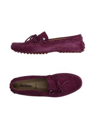 Мокасины ROŸ ROGER'S. Цвет: фиолетовый