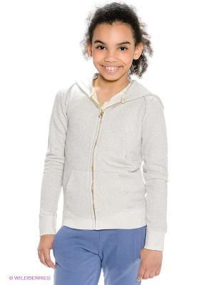 Толстовка American Outfitters. Цвет: светло-серый, серебристый