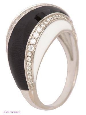 Кольцо Lovely Jewelry. Цвет: серебристый, черный