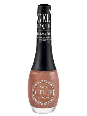 Гель-лак для ногтейNail Atelier тон 143, 12мл Vivienne Sabo. Цвет: бронзовый