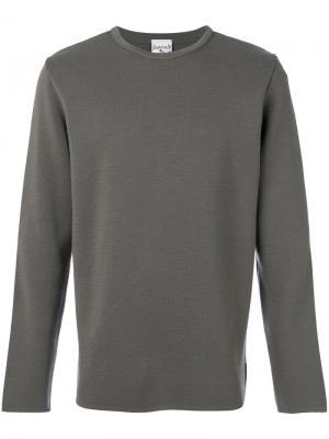 Классический трикотажный свитер S.N.S. Herning. Цвет: серый