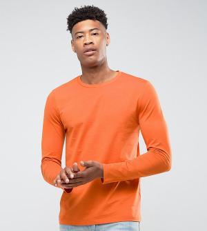 ASOS Оранжевый лонгслив TALL. Цвет: оранжевый