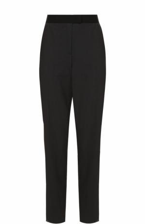 Шерстяные брюки прямого кроя Escada Sport. Цвет: серый