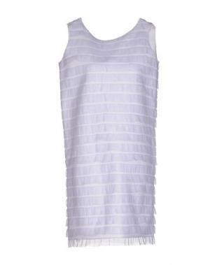 Короткое платье CARLO CONTRADA. Цвет: сиреневый