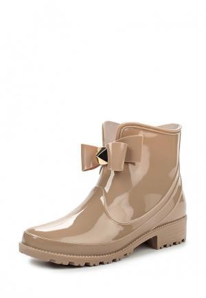 Резиновые полусапоги Sweet Shoes. Цвет: розовый