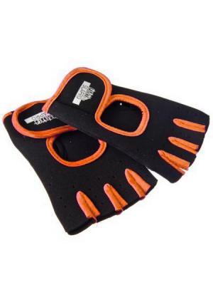 Перчатки SilaPro. Цвет: оранжевый