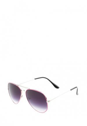 Очки солнцезащитные Pretty Mania. Цвет: розовый