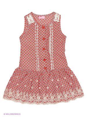 Сарафан Evita Baby. Цвет: красный