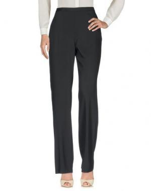 Повседневные брюки MARIA GRAZIA SEVERI. Цвет: черный
