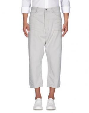 Джинсовые брюки RING. Цвет: бежевый