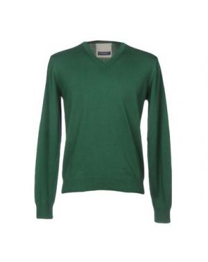 Свитер WOOL & CO. Цвет: зеленый