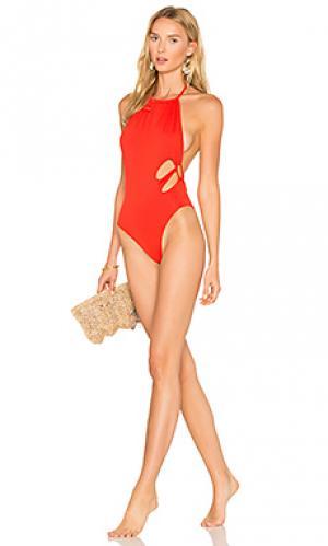 Слитный купальник sydney Indah. Цвет: красный