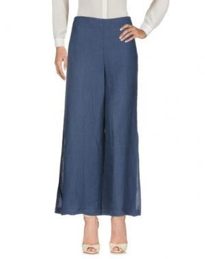 Повседневные брюки STEFANO MORTARI. Цвет: синий
