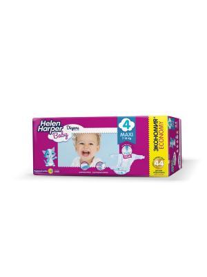 Helen HARPER Подгузники детские Baby Maxi 7-18кг 44шт. Цвет: темно-фиолетовый