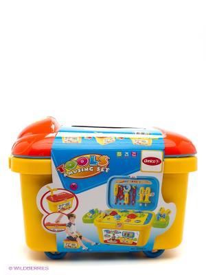 Набор инструментов в чемодане Amico. Цвет: желтый